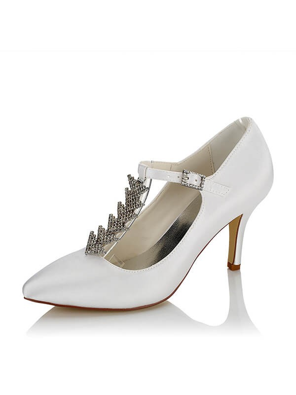 Cheap Satin Wedding Shoes SW01624B1I